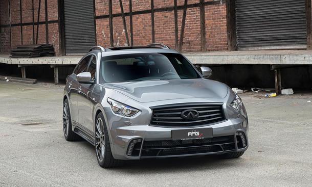 Infiniti QX70 Tuning AHG Sports SUV Crossover Bilder