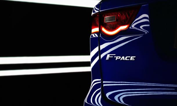 Jaguar F-Pace 2016 Geländewagen SUV Detroit Auto Show NAIAS