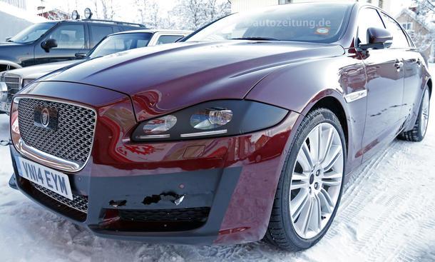 2015 - [Jaguar] XJ Restylée - Page 2 Jaguar-XJ-L-2015-Facelift-Erlkoenig-bilder-0002_0
