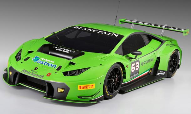 Lamborghini Huracan GT3 2015 Rennwagen Motorsport