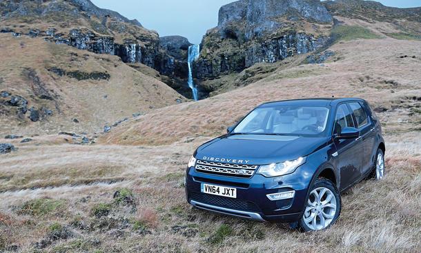 Land Rover Discovery Sport SD4 Test Bilder technische Daten