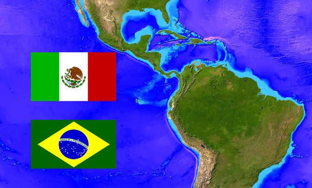 Automarkt 2014 Mexiko Brasilien Lateinamerika Produktion