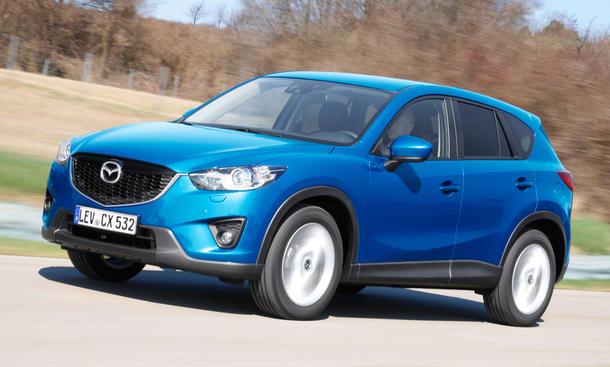 Mazda CX-5 Neuzulassungen 2014 KBA Zahlen SUV Geländewagen Top Ten Rangliste