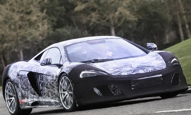 McLaren 2015 Sportwagen Erlkoenig bilder vorstellung 0002