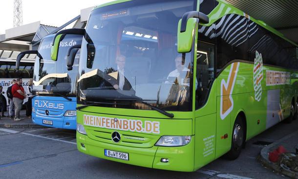 Fernbusse Deutschland MeinFernbus Flixbus Fusion Zusammenschluss Transport