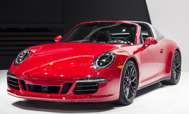 Porsche 911 Targa GTS 2015 Detroit Auto Show Sport Cabrio