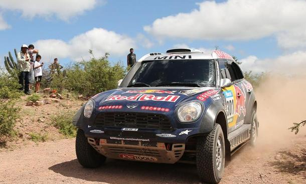 Rallye Dakar 2015 Gesamtsieg Nasser Al-Attiyah X-raid-Mini