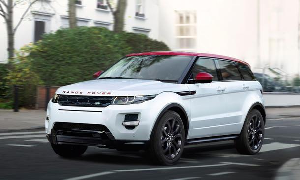Range Rover Evoque Sondermodell 2015 Britain III Preis Deutschland SUV Crossover