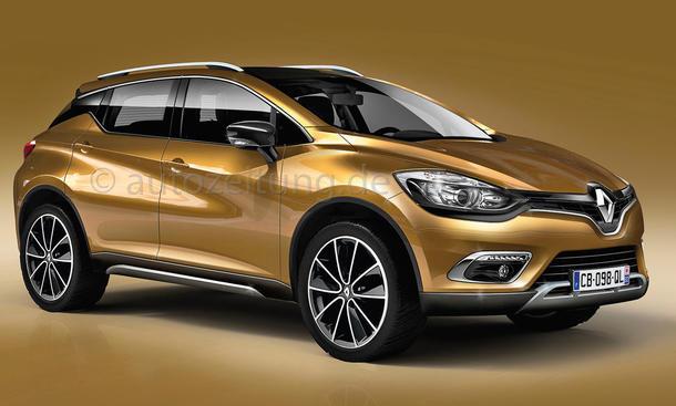 Renault Kadjar Kompakt-SUV 2015 Genf Auto Salon Neuheiten Bild