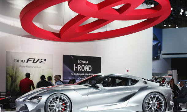 Toyota FT-1 Concept Detroit Auto Show 2015 Sportwagen Neuheiten Highlights