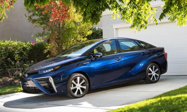 Toyota Mirai Brennstoffzelle Technologie Wasserstoff Patente