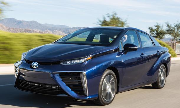 Toyota Mirai Verkaufszahlen Brennstoffzellenauto Absatz Wirtschaft