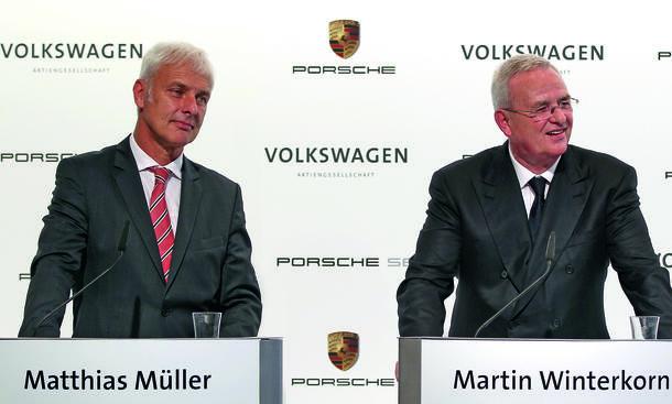 VW Chef Winterkorn-Nachfolger Matthias Müller Porsche Absage