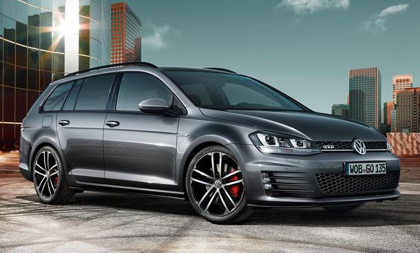 VW Golf GTD Variant 2015 Genf Power Kombi Diesel