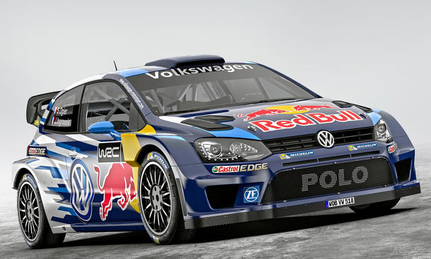 VW Polo R WRC 2015 Rallye Sebastien Ogier Rennversion