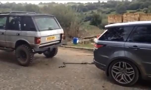 Video: Range Rover Sport fordert Großvater zum Duell