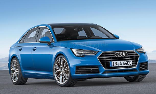 Audi A4 Limousine 2015 Neuheiten VW-Konzern Mittelklasse Bilder