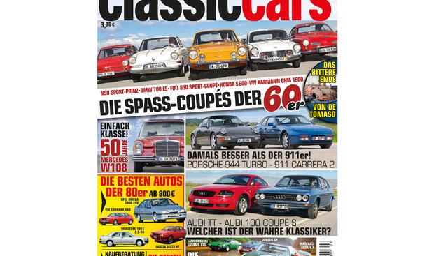 AUTO ZEITUNG Classic Cars 03 2015 Heft Vorschau Cover