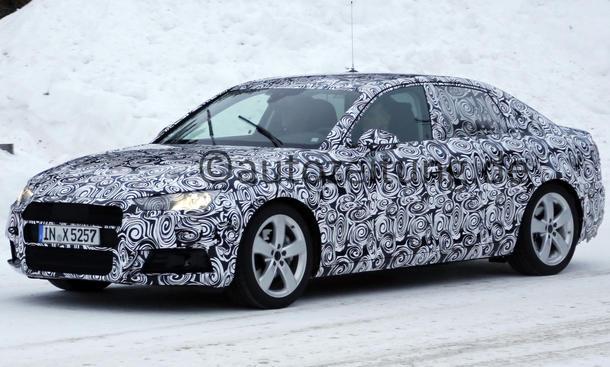Audi A4 2015 IAA Erlkoenig Mittelklasse Limousine 2016 Neuheiten Prototyp