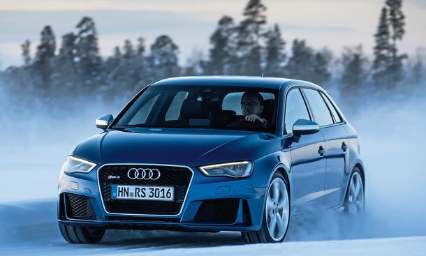Audi RS 3 Sportback 2015 Test Fahrbericht Bilder