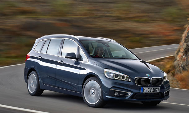 BMW 2er Gran Tourer 2015 Genf Autosalon Premiere Van Siebensitzer