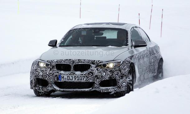 BMW M2 2015 Erlkönig Kompaktsportler Prototyp Neuheiten