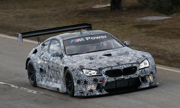 BMW M6 GT3 Rennwagen 2016 GT Motorsport Bilder