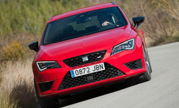 Seat Leon ST Cupra 2015 Power Kombi Kompaktklasse