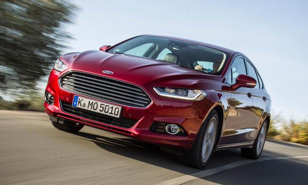 Ford Mondeo 2015 Preis Motoren Mittelklasse Limousine
