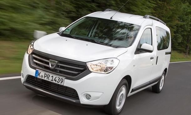 Gebrauchtwagen Schwacke-Liste Restwert-Riesen Rangliste Dacia Dokker