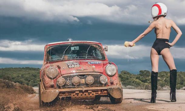 Hot Carwash 2015 Kalender Erotik Schönheiten Februar