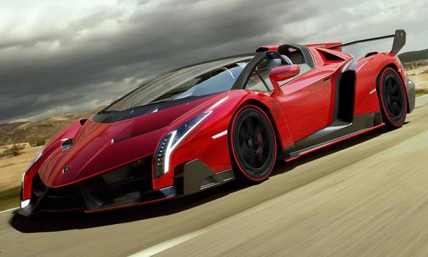 Lamborghini Veneno Roadster Studie Einzelstück Supersportwagen