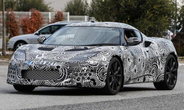 Lotus Evora 2015 Facelift Erlkönig Neuheiten Prototyp