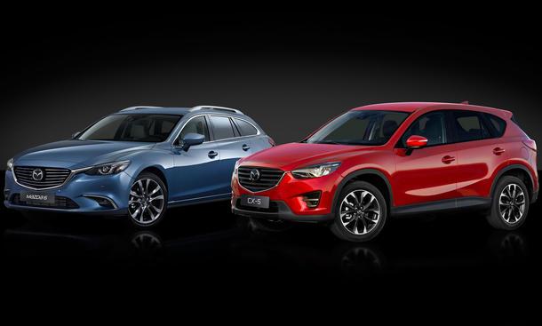6 mazda cx-5 2015 genf autosalon facelift preise preis