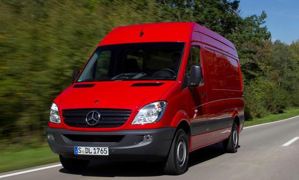 Mercedes Sprinter Daimler Nutzfahrzeuge Absatz 2014 Verkaufszahlen Neuzulassungen