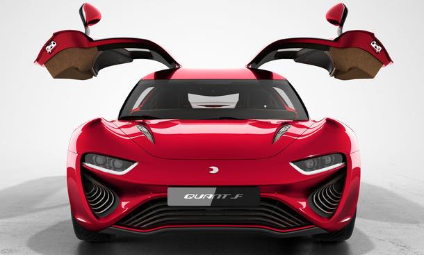 Nanoflowcell Quant F 2015 Genf Autosalon Flusszelle alternative antriebe fluegeltuerer brennstoffzelle supersportler 0002