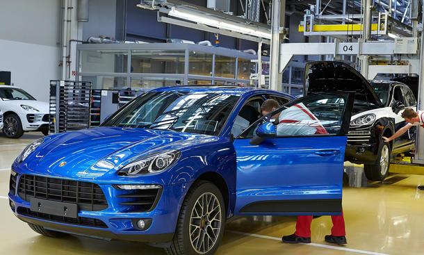 Porsche Absatz 2015 Januar Verkaufszahlen global Macan