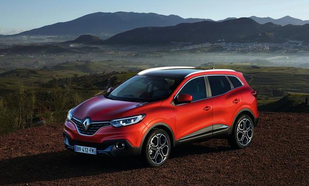 Renault Kadjar 2015 SUV Vorstellung bilder technische daten 0002