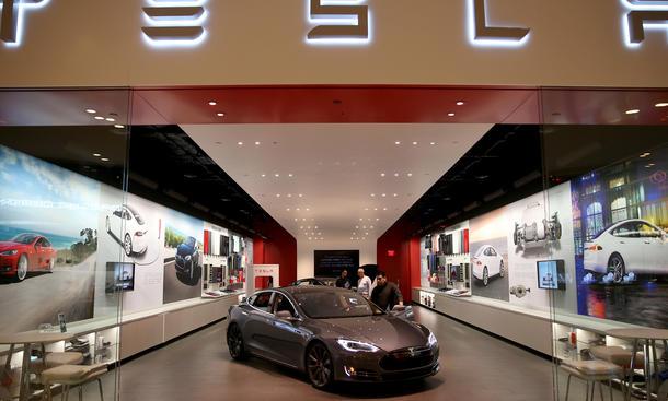 Tesla 2014 Verkaufszahlen Verluste Bilanz Aktie Umsatz