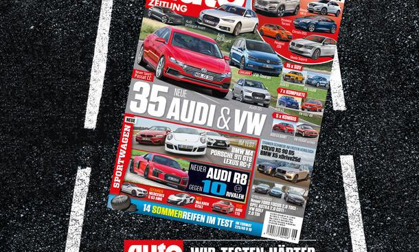 Auto Zeitung 6/2015 Heft-Vorschau Cover