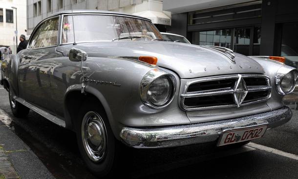 Borgward Rückkehr 2015 Autosalon Genf Isabella Coupé Neuheiten