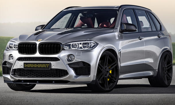 BMW X5 M Manhart MHX5 M Tuning SUV Leistungssteigerung