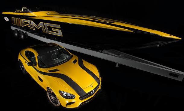 Cigarette Racing 50 Marauder GT S Concept Mercedes-AMG GT Miami 2015