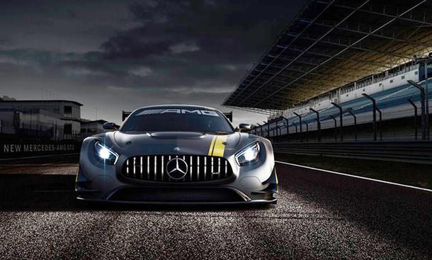 Mercedes-AMG GT3 Rennversion Genfer Autosalon 2015