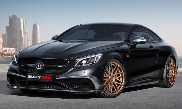 brabus mercedes s 63 amg 2015 genf autosalon tuning biturbo V8 coupé 0002
