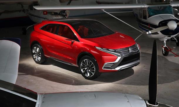 Mitsubishi ASX XR-PHEV II Studie Genfer Autosalon 2015 Kompakt-SUV Nachfolger