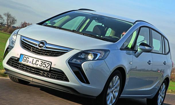 Opel Zafira Tourer 1.6 CDTI Diesel Test Van