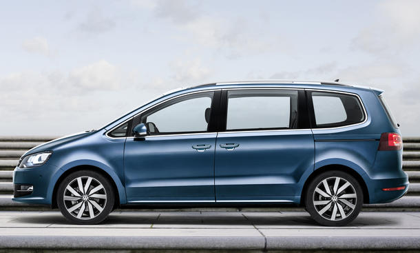 VW Sharan Facelift auf dem Genfer Autosalon 2015 | Bild 10