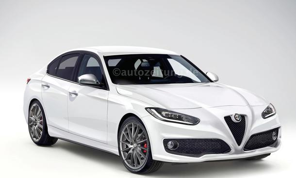 Alfa Romeo Giulia 2015 Mittelklasse Neuheiten