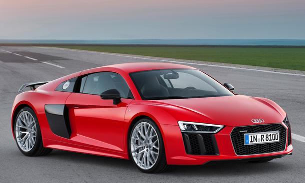 Audi R8 V10 plus 2015 Fahrbericht Mitfahrt Bilder